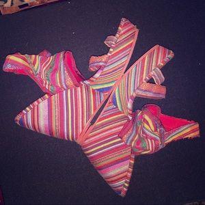 Festive, Colorful Wedge Sandals Blowfish Sz 9